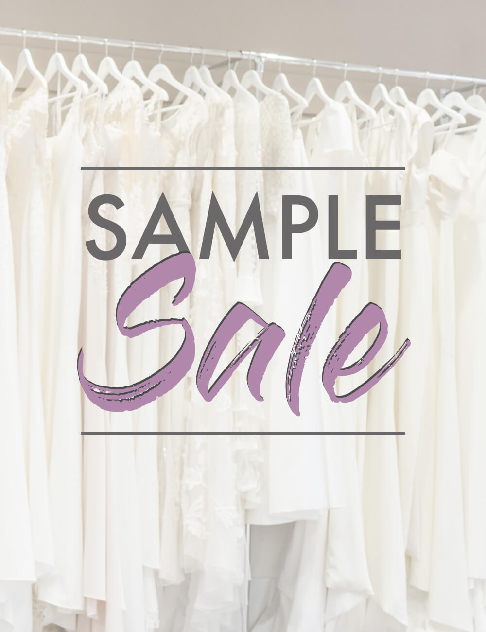 Allum & Sidaway Bridal - Sample Sale 2021